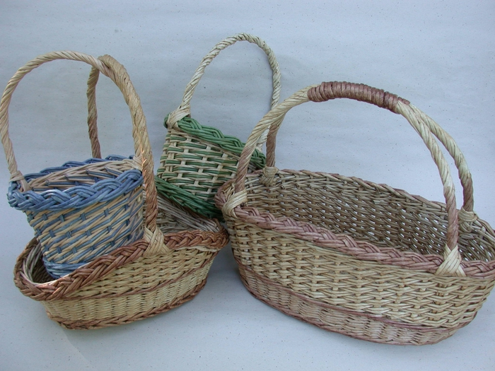 recycling paper: baskets tutorial