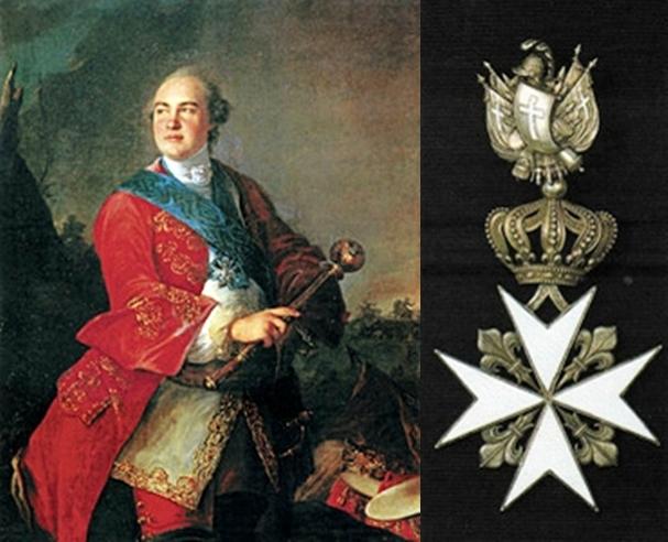 Самые тесные отношения с рыцарями-мальтийцами были у императора павла i, которого