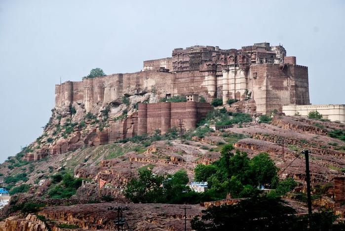 Крепость Мехрангарх - Mehrangarh fort, Jodhpur 66269
