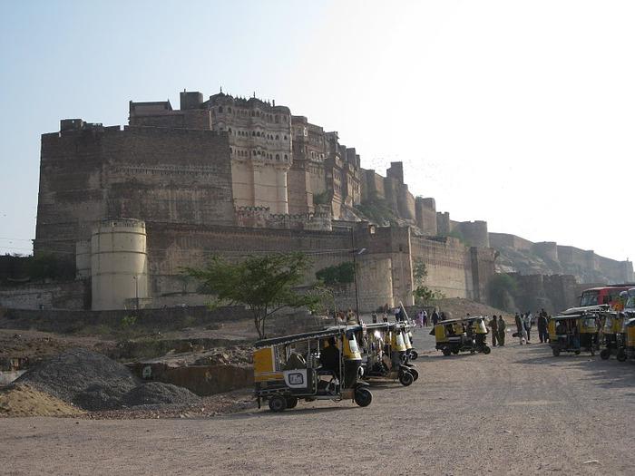 Крепость Мехрангарх - Mehrangarh fort, Jodhpur 85781