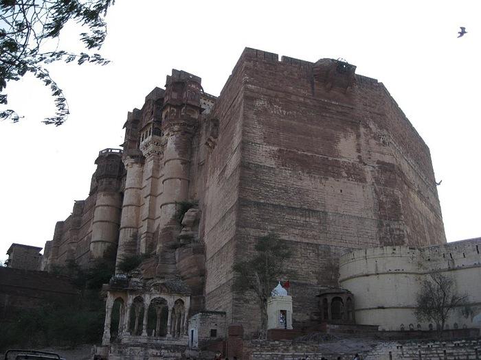 Крепость Мехрангарх - Mehrangarh fort, Jodhpur 74053