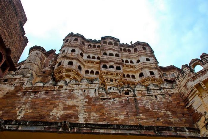 Крепость Мехрангарх - Mehrangarh fort, Jodhpur 46621