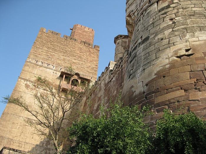 Крепость Мехрангарх - Mehrangarh fort, Jodhpur 61585