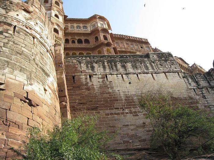 Крепость Мехрангарх - Mehrangarh fort, Jodhpur 53508