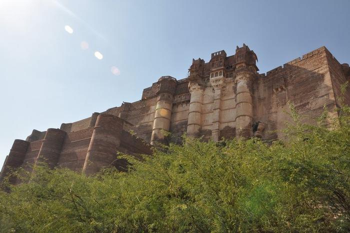 Крепость Мехрангарх - Mehrangarh fort, Jodhpur 84571