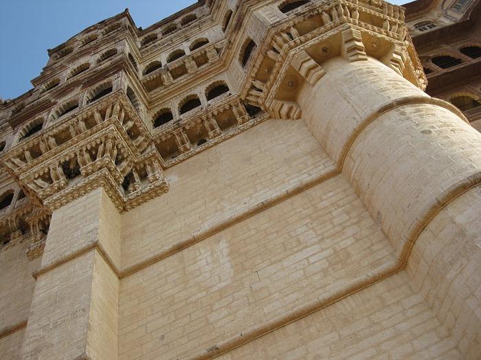 Крепость Мехрангарх - Mehrangarh fort, Jodhpur 68759