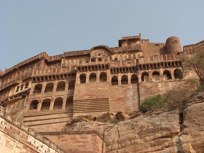 Крепость Мехрангарх - Mehrangarh fort, Jodhpur 86484