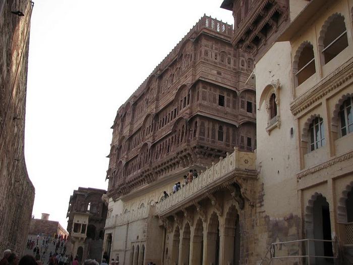 Крепость Мехрангарх - Mehrangarh fort, Jodhpur 38169