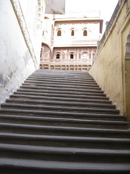 Крепость Мехрангарх - Mehrangarh fort, Jodhpur 27912