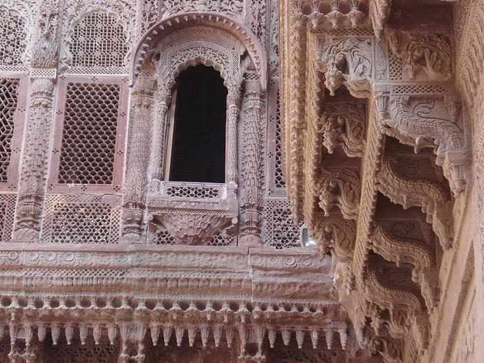 Крепость Мехрангарх - Mehrangarh fort, Jodhpur 75028