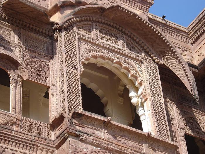 Крепость Мехрангарх - Mehrangarh fort, Jodhpur 65045