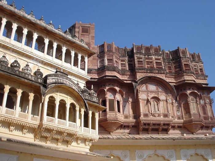 Крепость Мехрангарх - Mehrangarh fort, Jodhpur 46889