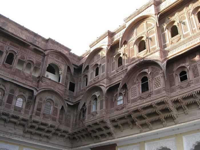 Крепость Мехрангарх - Mehrangarh fort, Jodhpur 85465