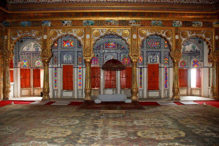 Крепость Мехрангарх - Mehrangarh fort, Jodhpur 13082