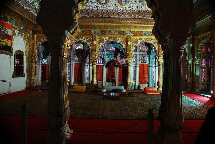 Крепость Мехрангарх - Mehrangarh fort, Jodhpur 48459