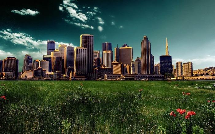 Городской пейзаж 3