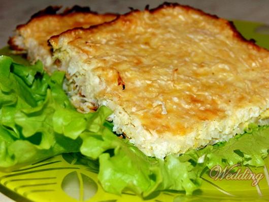 Рецепт капустной запеканки в духовке