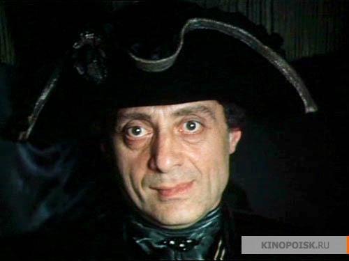 В картине формула любви (1984) актер сыграл жакоба - помощника самого графа калиостро