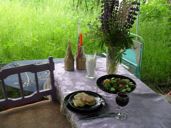 рецепт кабачковые оладьи в мультиварке