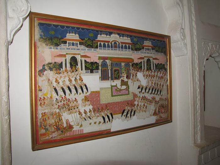 Крепость Мехрангарх - Mehrangarh fort, Jodhpur 52439