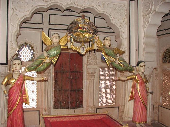 Крепость Мехрангарх - Mehrangarh fort, Jodhpur 79549