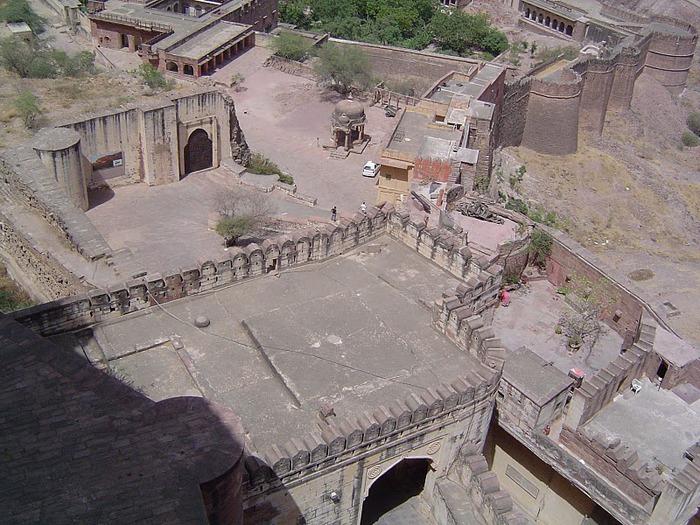 Крепость Мехрангарх - Mehrangarh fort, Jodhpur 12541