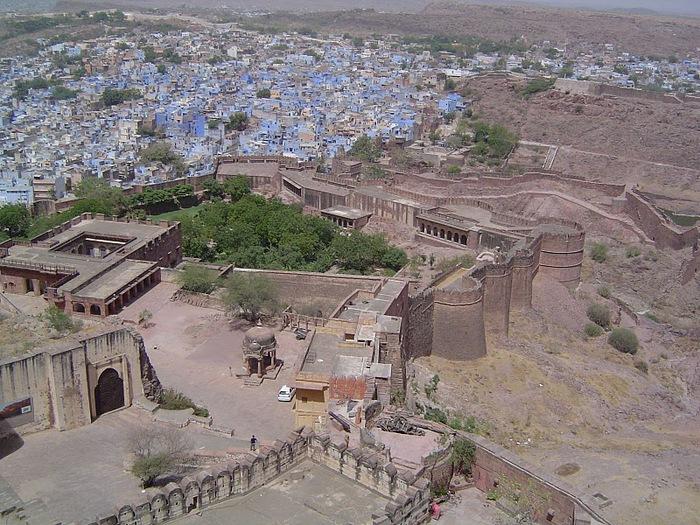Крепость Мехрангарх - Mehrangarh fort, Jodhpur 55102