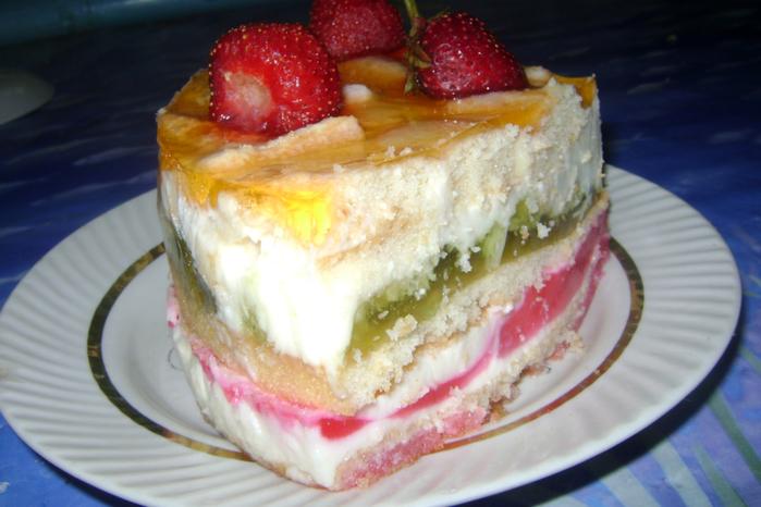 Праздничные торты без выпечки рецепты