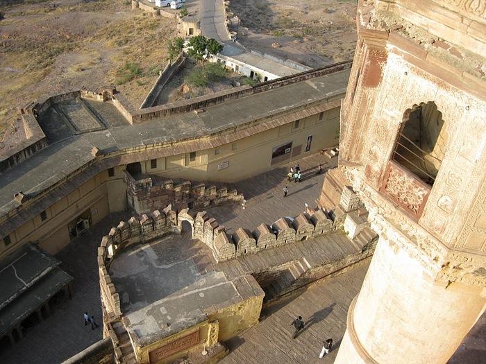 Крепость Мехрангарх - Mehrangarh fort, Jodhpur 19397