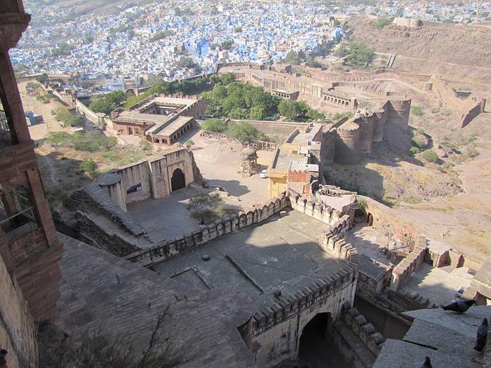 Крепость Мехрангарх - Mehrangarh fort, Jodhpur 50424