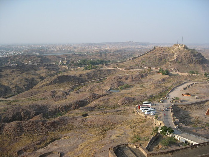 Крепость Мехрангарх - Mehrangarh fort, Jodhpur 92973