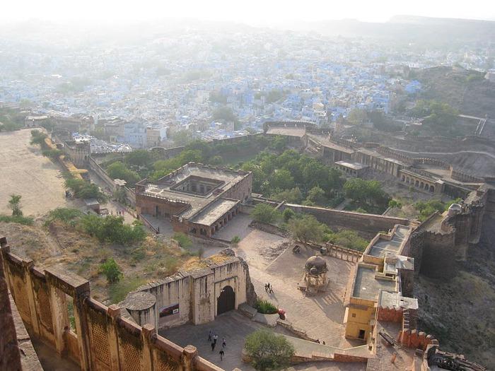 Крепость Мехрангарх - Mehrangarh fort, Jodhpur 99701