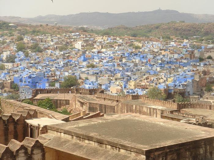 Крепость Мехрангарх - Mehrangarh fort, Jodhpur 98592