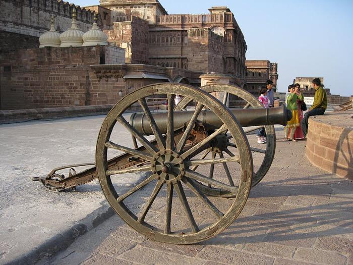 Крепость Мехрангарх - Mehrangarh fort, Jodhpur 43953