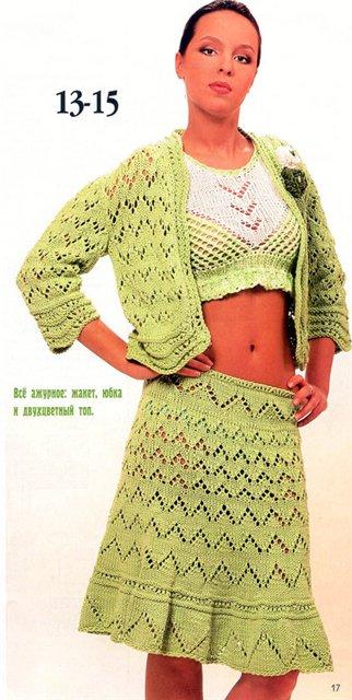 Вязаные юбки спицами. вязание схемы бесплатно. вязание тС'плые юбки...