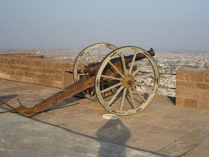 Крепость Мехрангарх - Mehrangarh fort, Jodhpur 12625