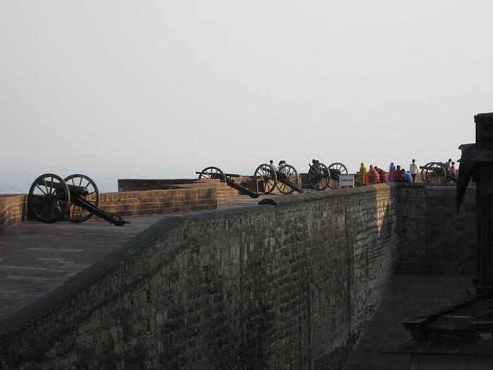 Крепость Мехрангарх - Mehrangarh fort, Jodhpur 10602