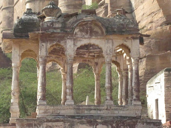 Крепость Мехрангарх - Mehrangarh fort, Jodhpur 84003