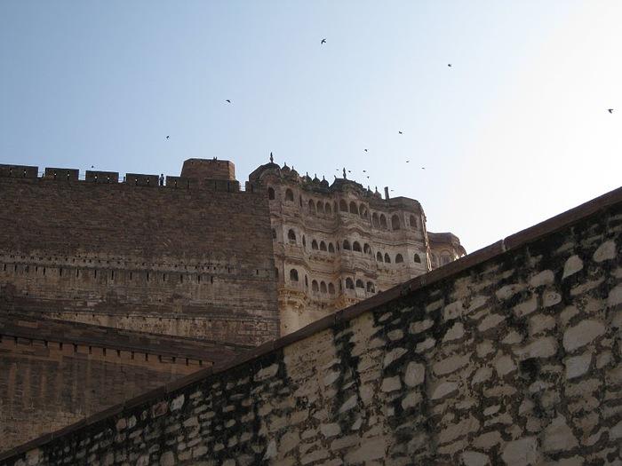 Крепость Мехрангарх - Mehrangarh fort, Jodhpur 48774