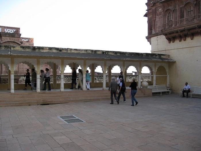 Крепость Мехрангарх - Mehrangarh fort, Jodhpur 46993