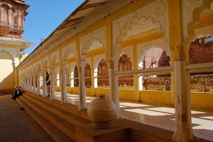 Крепость Мехрангарх - Mehrangarh fort, Jodhpur 83179
