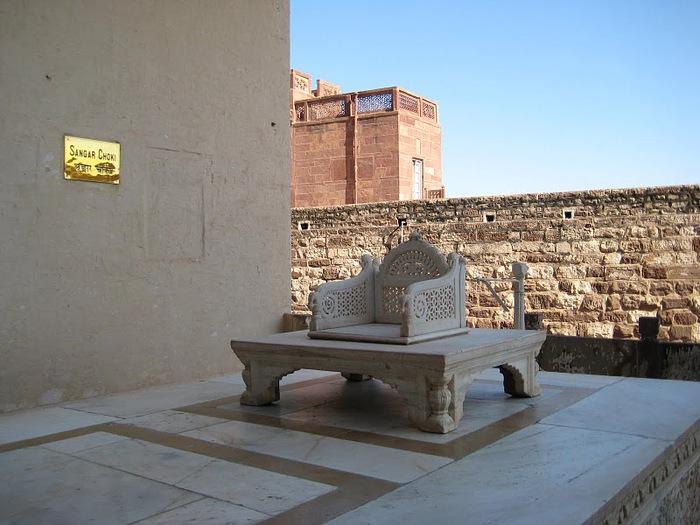 Крепость Мехрангарх - Mehrangarh fort, Jodhpur 87306
