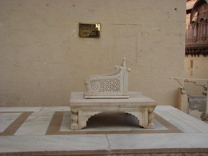 Крепость Мехрангарх - Mehrangarh fort, Jodhpur 81155