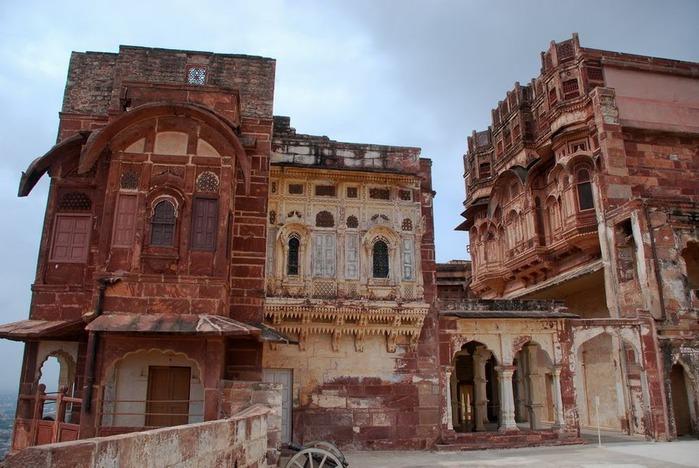 Крепость Мехрангарх - Mehrangarh fort, Jodhpur 55079