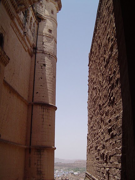 Крепость Мехрангарх - Mehrangarh fort, Jodhpur 38747