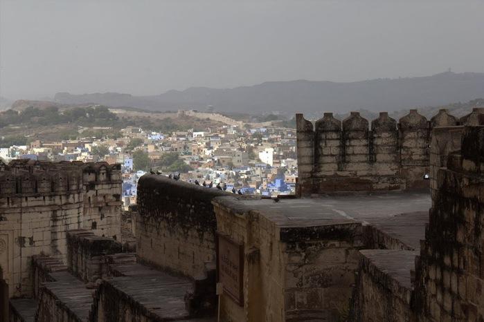 Крепость Мехрангарх - Mehrangarh fort, Jodhpur 99970