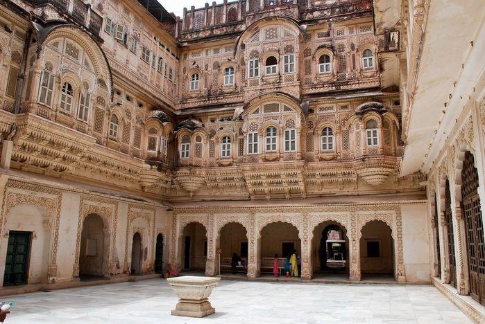 Крепость Мехрангарх - Mehrangarh fort, Jodhpur 71969
