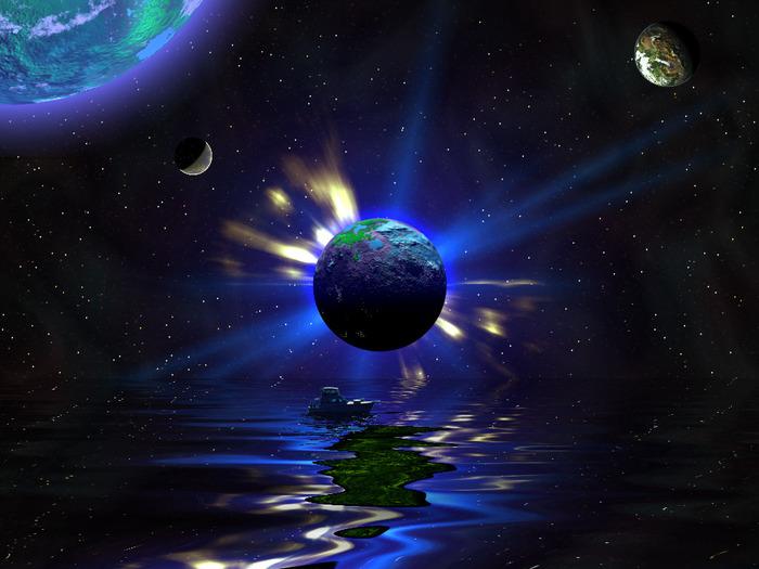 К такому выводы пришли ученые, подробно изучив экзопланету GJ1214b, найденную в созвездии Змееносца.