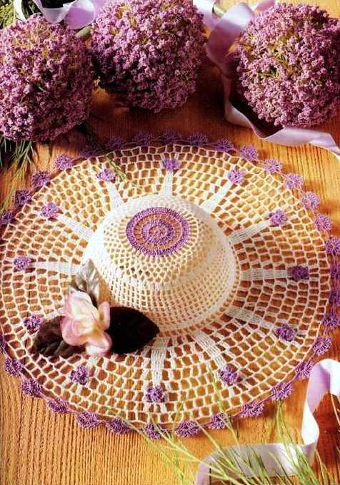 crafts for summer: crochet hats for beach