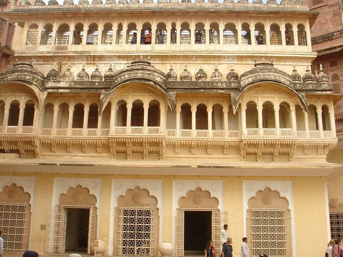 Крепость Мехрангарх - Mehrangarh fort, Jodhpur 33933